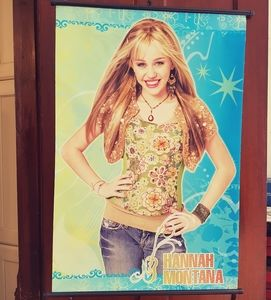 RARE! Canvas Hannah Montana rare print poster